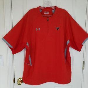 Under Armor heat gear loose fit red Pullover large